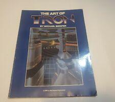 The Art of Tron Walt Disney Movie Artwork Michael Bonifer 1982