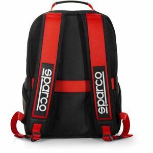 "Sparco Stage 16L Backpack Rucksack Black/Red school 15"" laptop case STOCK 2021"