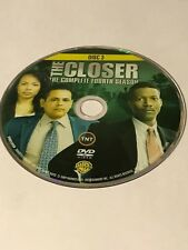 THE CLOSER FOURTH SEASON 4 DISC 3 REPLACEMENT DVD DISC ONLY