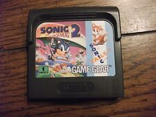 Sonic the Hedgehog 2 Sega Game Gear Tested and Working