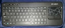 Logitech K400r Black Wireless  Keyboard and Touchpad NO USB Receiver
