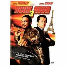 RUSH HOUR 3 DVD Chris Tucker JACKIE CHAN Max Van Sydow MOVIE Film COMEDY action
