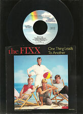 THE FIXX, ONE THING LEADS TO ANOTHER, 1983 ORIGINAL 45 RPM +picture sleeve,MINT!