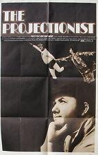 THE PROJECTIONIST Rodney Dangerfield debut ORIGINAL Chuck McCann 1971 one sheet