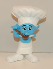 "2011 Chef Smurf 3"" McDonald's #15 Happy Meal PVC Action Figure Toy Smurfs"