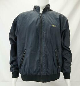 Vintage Izod Lacoste Windbreaker Jacket Men's Blue L