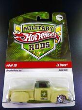 HOT WHEELS 2009 MILITARY RODS U.S. ARMY - LA TROCA