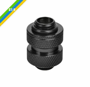 Thermaltake Black  G1/4 Adjustable Fitting (20-25mm) , CL-W067-CU00BL-A