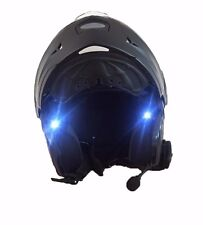 Helmet front warning Safety Lights Bicycle cycling Motorcycle riding red led