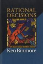 Rational Decisions (The Gorman Lectures in Economics) by Binmore, Ken