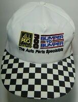 Vtg 1990s ALL PRO AUTO PARTS 300 NASCAR CHARLOTTE MOTOR SPEEDWAY SNAPBACK HAT