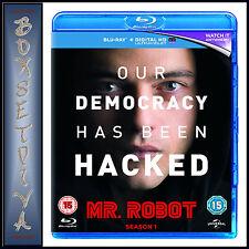 MR ROBOT - COMPLETE SEASON 1  *BRAND NEW BLURAY *