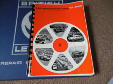 Original British Leyland Triumph Rover Film Library Catalog