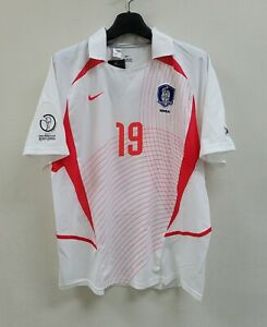 2002 South Korea Away S/S No.19 AHN Jung-Hwan 2002 WorldCup XXL