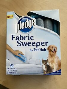 1 pack of 2 Pledge Fabric Sweeper For Pet Hair Remover Roller