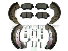 Fits Nissan Micra 1.0 Front Brake Discs Pads Rear Shoes 49 88-12//92 MA10