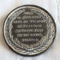 1837 DEATH OF WILLIAM IIII 36mm WHITE METAL MEDAL