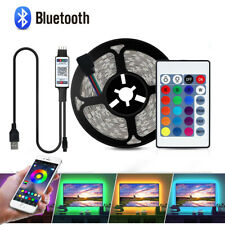 5V USB Led Strip RGB Room Lights 5050 Color Changing Bluetooth APP Music Control