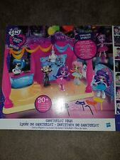 My Little Pony Equestria Girls Minis Canterlot alta Dance PLAYSET CON BAMBOLA