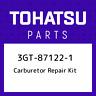 3GT-87122-1 Tohatsu Carburetor repair kit 3GT871221, New Genuine OEM Part