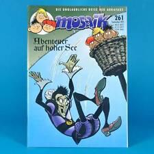 Mosaico Abrafaxe 261 | settembre 1997 | DDR DA COLLEZIONE b1 | avventura in alto mare