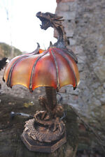 65764VV FIGURINE LUMINAIRE  LAMPE DRAGON  42 CM  HEROIC  FANTASY  20% UNIQUE
