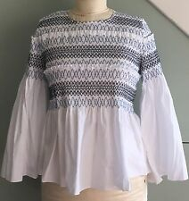See by Chloe smocked peasant top small, FR 38 - SOLD OUT