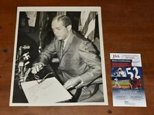 Very Rare 1965 Florida Governor HAYDON BURNS Signed 8x10 Inch Wire Photo-JSA