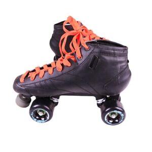 Bont Pro Star Prodigy Roller Skates with Atom Pulse Quad Wheels - US 9.5 285mm