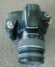 Sony Alpha A290L 14.2MP Digital SLR Camera - Black (Kit w/ 18-55mm Lens)-Used