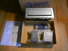 1 x Extron Electronics Cable Cubby 1200 Gebürstetes Aluminium Steckdosenmodul