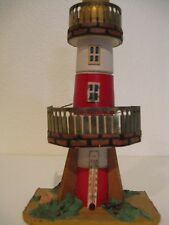 Vintage Folk Art Lighthouse Thermometer Celsius