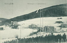 Ansichtskarte Riesengebirge Wintersport in Spindelmühle um 1900   (Nr.820)