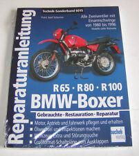Reparaturanleitung BMW Zweiventil Boxer R 65, R 80 GS, R 100 R - ab 1980!