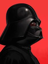 Dark Vador Star Wars Mondo Portrait Art Imprimé Poster par Mike Mitchell signé