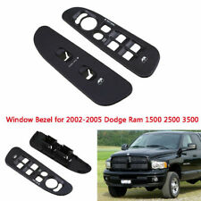 Fit 02-05 Dodge Ram 1500 2500 3500 Window Switch Trim Bezel Plate Master Cover