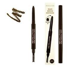 MAKEUP REVOLUTION DUO BROW DEFINER EYEBROW Pencil & Spooley Brush