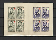 FRANCE 1958 carnet croix-Rouge 8 timbres neufs 15f.+7f. & 20f.+8f. /T1892