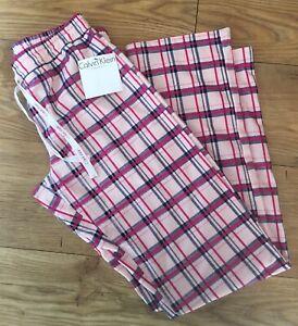 BNWT Calvin Klein Womens Lounge Pants Pyjama Bottoms - Size XS - RRP £39