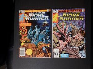 Blade Runner #1 and 2, Marvel