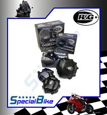 SUZUKI GSXR 750 2006 > 2007 KIT PROTEZIONI CARTER MOTORE R&G CRANK CASE COVERS