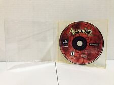 Alundra 2: A New Legend Begins Sony Playstation PS1 Game Disc Only