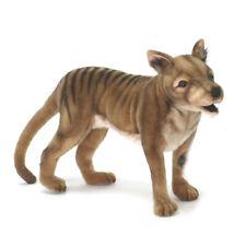 Tasmanian Tiger Wolf Hansa Realistic Animal Plush Toy 35cm Delivery