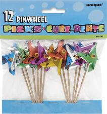 Pinwheel Food Picks Party Food Decoration
