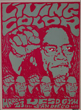 KOZIK LIVING COLOR 1991 ROCK CONCERT POSTER SIGNED