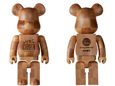 "Medicom Toy BE@RBRICK KARIMOKU ""HOUSE INDUSTRIES CHESS"" 400% Wooden Bearbrick"