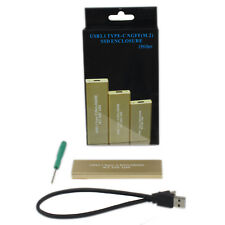 USB 3.1 Type-C M.2 SSD enclosure 10Gb USB C to NGFF B Key SATA Box for Macbook