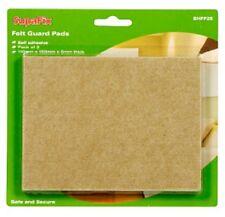SupaFix Feutre Guard Pads Pack 2 110 mm x 150 mm-protéger les sols et meubles