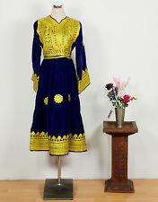 Orient Nomaden Tracht afghan samt kleid afghanistan traditional velvet dress NR9