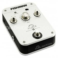 Fishman Aura pro-aip-p16 SEDICI Programmable Acoustic Imaging Pedal/stompbox